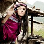 Hoa hậu Ngọc Hân hóa thiếu nữ miền sơn cước