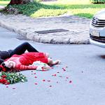 Akira Phan và ca sĩ hải ngoại Ngô Khả Tú bị 'tai nạn' thương tâm trong MV mới