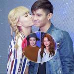Tình mới hôn Cường Seven thắm thiết trước mặt Chi Pu