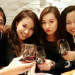 Lã Thanh Huyền rạng rỡ mừng sinh nhật bên bạn bè