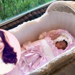 Hoa hậu Hà Kiều Anh khoe ảnh con gái thứ ba tròn 1 tháng tuổi