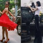 Angela Phương Trinh phô diễn đôi chân dài 'bất thường'