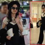 Lưu Diệc Phi mặc giản dị hút hồn fans hâm mộ ở sân bay