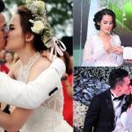 Những đám cưới đẹp như cổ tích của sao Việt trong năm 2015