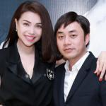 Đạo diễn Đỗ Kim Khánh lịch lãm đến chúc mừng Trà Ngọc Hằng ra mắt MV mới