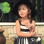 Con gái Hồng Nhung sành điệu như mẫu nhí