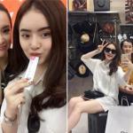 Ba mẹ con Angela Phương Trinh khoe 'chiến tích' mua sắm