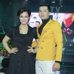 Nhật Kim Anh diện đầm đen sang trọng chúc mừng Lưu Thái Vũ ra mắt album mới
