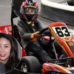 Con trai lớn của Hoa hậu Hà Kiều Anh 'lái xe đua ngon lành'