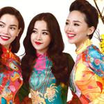 Dàn sao Việt diện áo dài rộn ràng đón Tết