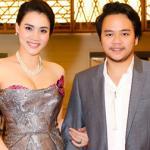 Vợ chồng Trang Nhung chăm chỉ đi dự sự kiện trước ngày cưới