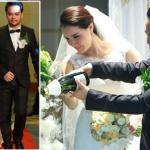 Trang Nhung rạng rỡ trong đám cưới lần 2 tại Hà Nội