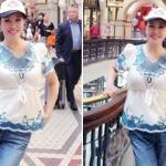 Lưu Hiểu Khánh ăn mặc sến sẩm dù đã lục tuần
