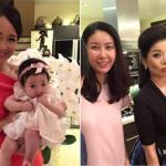 Diva Hồng Nhung đến chúc tết nhà Hoa hậu Hà Kiều Anh
