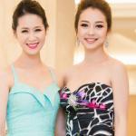 Jennifer Phạm trẻ trung 'đọ sắc' bên cạnh Dương Thùy Linh