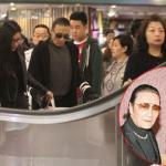 Bố Tạ Đình Phong quấn quýt bồ trẻ đi mua sắm