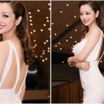 Jennifer Phạm diện váy xẻ cao khoe đường cong mê hoặc