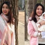 Hoa hậu Hà Kiều Anh cùng gia đình đến đảo Nami, Hàn Quốc