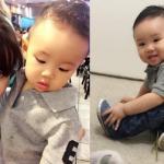 Vy Oanh và con trai diện đồ 'tông xuyệt tông' vui vẻ đi chơi