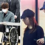 Kai (EXO) bất ngờ bị bó bột một bên chân sau khi công khai hẹn hò Krystal (F(x))