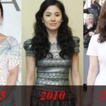 Thời trang của Song Hye Kyo qua năm tháng