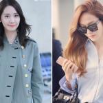Yoona tươi tắn, Jessica đẹp sang chảnh xuất hiện ở sân bay