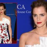 Emma Watson đẹp miễn chê trên thảm đỏ tiệc tối của Nhà Trắng