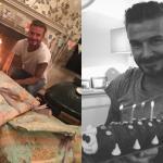 Becks ngập tràn hạnh phúc bên 'núi quà' trong ngày sinh nhật
