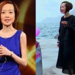 MC gầy nhất Trung Quốc bị lo 'thổi bay mất' khi dẫn chương trình bên bờ biển