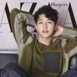 Song Joong Ki đẹp trai 'đốn tim' fan trong bộ ảnh mới