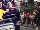 Triệu Vy đưa con gái yêu đi du lịch Australia