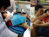Cường Đô la đưa Subeo đi khám răng khi Hà Hồ vắng nhà