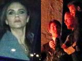 Vic không hài lòng khi Becks trèo cao chụp ảnh cùng Tom Cruise