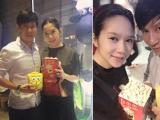 Vợ chồng Lý Hải - Minh Hà 'trốn' con đi xem phim