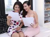 Vân Trang - Trúc Diễm háo hức hóa 'nàng tiên hoa'