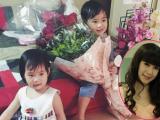 Hai con Lý Hải cực yêu mừng sinh nhật mẹ