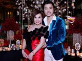 Siêu mẫu Vũ Hoàng Việt cùng người yêu Y-Vone Thúy Hoàng say đắm tại dạ tiệc Angel Night Party