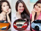 Sao Việt bị 'lật tẩy' khi mượn siêu xe đi sự kiện