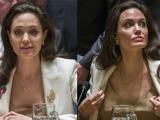 Angelina Jolie đen sạm, gầy guộc tại sự kiện