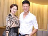Vắng bạn trai, Hương Giang Idol rủ trai đẹp đi sự kiện