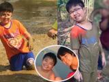 MC Thảo Vân thích thú khoe ảnh con lấm lem bùn đất đi bắt cá
