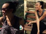 Đoan Trang hào hứng khi được tham quan bãi tắm tiên ở Mỹ