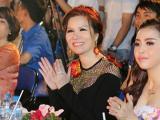 Hoa hậu Bùi Thị Hà sang trọng và đầy thần thái khi làm giám khảo