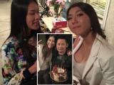 Ngọc Quyên mừng sinh nhật cùng Bằng Kiều, Dương Mỹ Linh