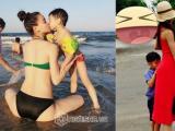 Hồ Ngọc Hà siêu nhí nhảnh khi đưa Subeo đi chơi