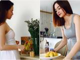 Thiều Bảo Trang và em gái Thiều Bảo Trâm trổ tài nội trợ