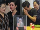 Sao Việt đau buồn đưa tiễn NSƯT Anh Dũng về bên vợ quá cố