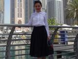 Hoa khôi Lan Anh du ngoạn hè ở Dubai