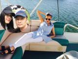 Người yêu Bằng Kiều khoe dáng đẹp 'mướt mắt' trên du thuyền