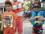 Jacky Minh Trí tươi rói đi nghỉ hè cùng gia đình